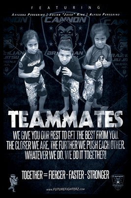 Teammates Poster (Peregrino Twins & Julian King)