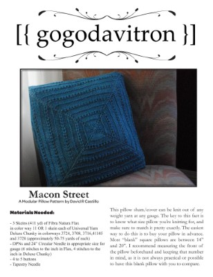 Macon Street Pillow Sham