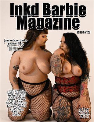 Inkd Barbie Magazine Issue #128 - Jordan Kaye Jacks & Saphira May