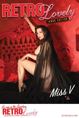 Miss V Cover Poster - Taboo Edition No. 36