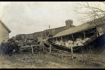 Train Wreck, Jan. 11, 1907, Bardwell, Carlisle County, Kentucky Photo3