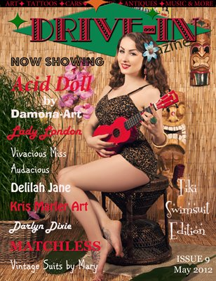 Drive-In Magazine Issue 9 Tiki/Swimsuit Edition