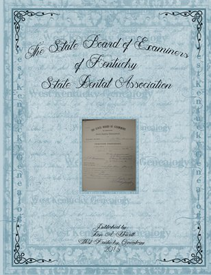 1889-1908 The State Board of Examiners, Carlisle County, Kentucky