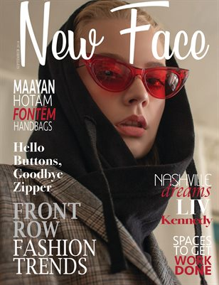 New Face Fashion Magazine - Issue 21, September '18
