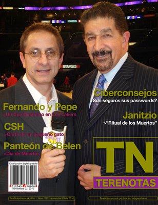 Fernando y Pepe... Un duo dinamico en Los Lakers