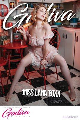 GODIVA No.26 – Miss Lana Foxx Cover Poster