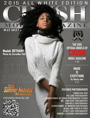 CRUSH MODEL MAGAZINE 2015 ALL WHITE EDITION