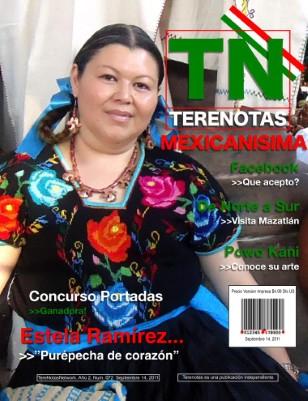 Estela Ramírez... Purépecha de corazón