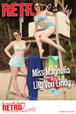Miss Magnolia & Lily Von Lindy Cover Poster