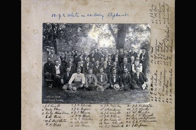Wilson County, Tennessee group of Men (identified)