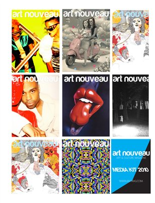 Art Nouveau Media Kit 2010-2011