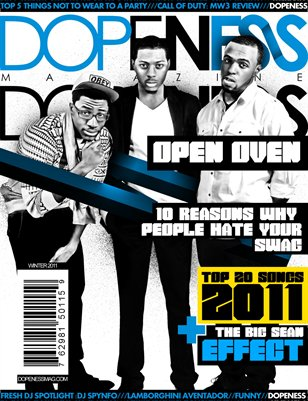 Dopeness Magazine: Issue 1