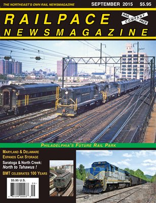 September 2015 Railpace Newsmagazine