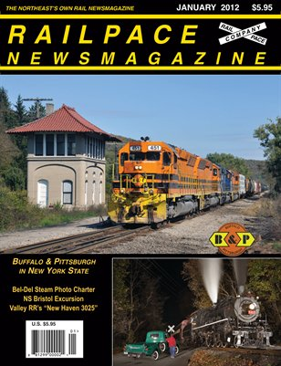 JANUARY 2012 RAILPACE NEWSMAGAZINE
