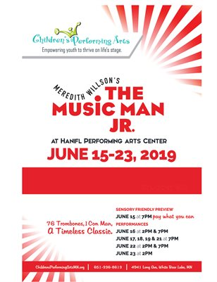 2019 Children's Performing Arts - The Music Man Jr.