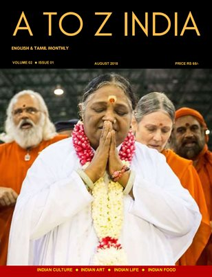 A TO Z INDIA - AUGUST 2018