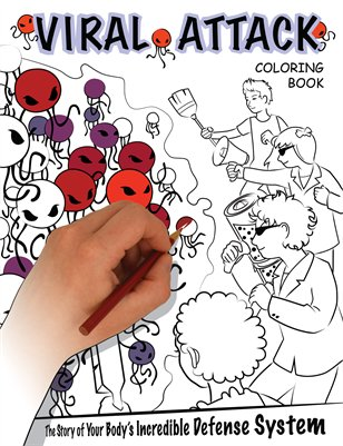 Viral Attack Coloring Book