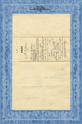(PAGES 1-2) FULL SIZE 1936 Deed, J.H. Owen to Fred Owen, Graves County,KY