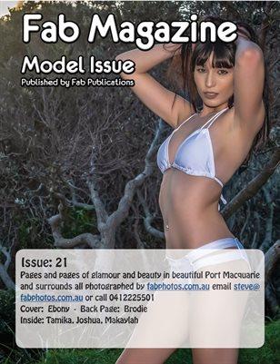 Fab Magazine Model Issue 21