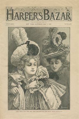 May 1, 1897 HARPER'S BAZAR Magazine Cover