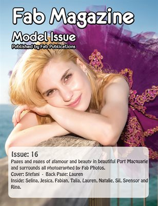 Fab Magazine Model Issue 16