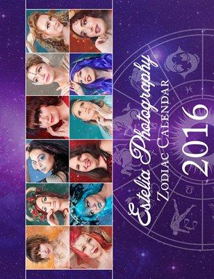 Estelia Photography - Zodiac Calendar - 2016