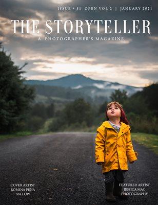 The Storyteller Magazine Issue # 51 OPEN VOL 2