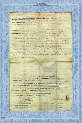 1835 Deed, Thomas Stevens to School District No.9, Rumney, Grafton County, New Hampshire