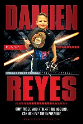 Damien Reyes Rocket Poster