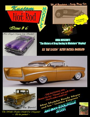 Kustom and Hot Rod Models #6