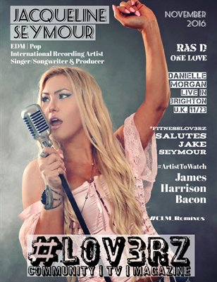 #LOV3RZ Independent Magazine November 2016