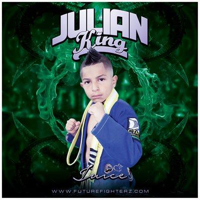 Julian King Comp Card/Mini Poster 8x8