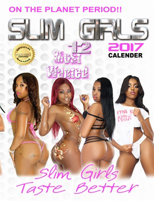 Slim Girls 2017 Calendar
