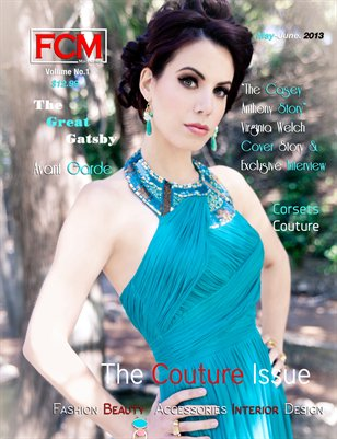 "Fashion Couture Magazine ""Couture Issue"" Volume 1, Issue No. 9"