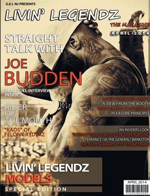 Livin' Legendz - The Magazine     April 2014