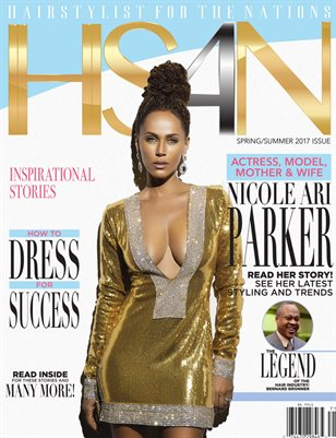 HS4N Magazine (Hairstylist For The Nations) Vol.1, Issue 1