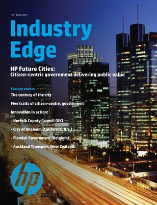 HP Industry Edge | Future Cities Edition