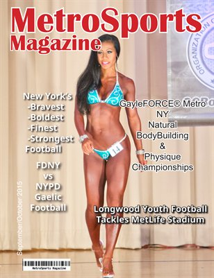 MetroSports Magazine Sept/Oct 2015 SL cover