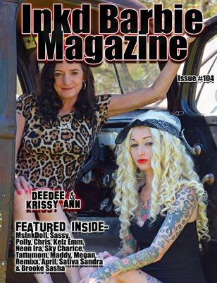 Inkd Barbie Magazine Issue #104 - DeeDee & Krissy Ann