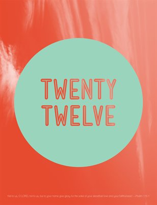 Twenty Twelve: FSP Yearbook