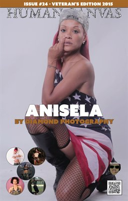 Issue #24 - Anisela Cover