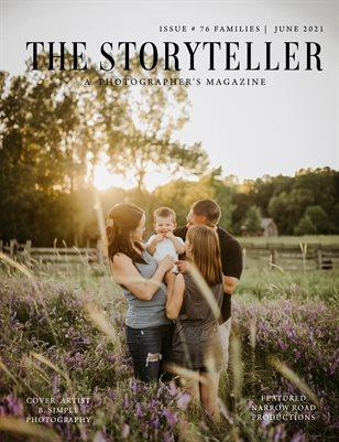 The Storyteller Magazine Issue # 76 FAMILIES