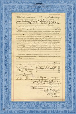 No. 6236 1893 Quit-Claim Deed Joseph C. Linhoff and wife to Barbara Conter, Scott County, Minnesota