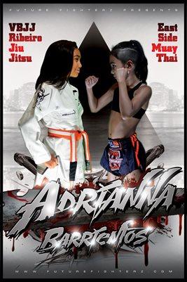 Adrianna Barrientos Face Off Poster