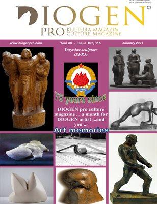 DIOGEN pro art magazine...No.115