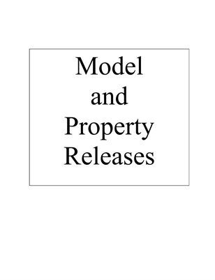 Model and Property Release Forms for Photographers