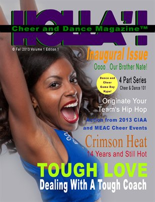HOLLA'!  Cheer & Dance Magazine Fall 2013 Issue