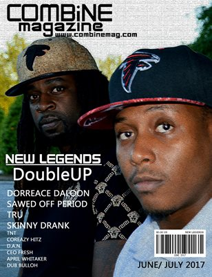 June/ July New Legends Issue DoubleUp Cover