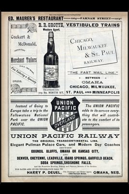 1888 OMAHA, NEBRASKA BUSINESS ADS NO.7