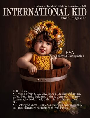 International Kid Model magazine Issue #69 Babies & Toddlers